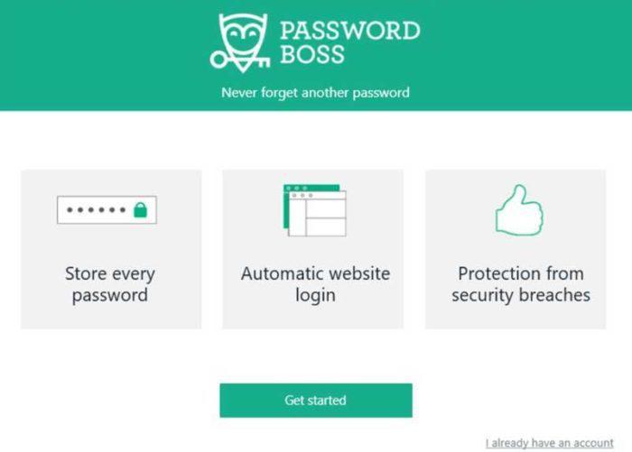 passwordboss fetures